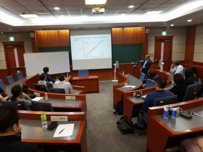 Research Presentation at Korea University Business School