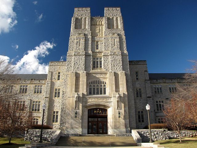 Management Pamplin Atrium